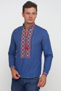 Рубашка вышитая мужская М-418-26