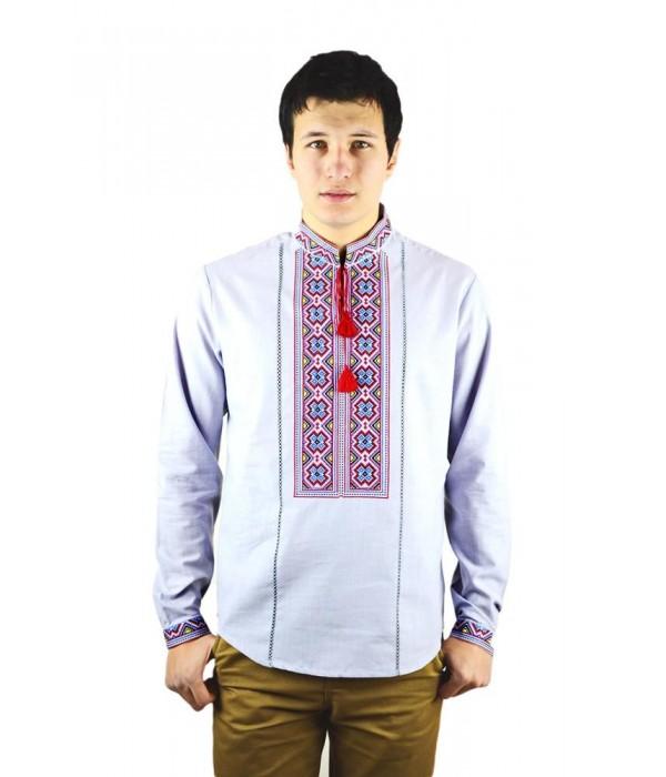 Рубашка вышитая мужская М-418-12, Рубашка вышитая мужская М-418-12 купити