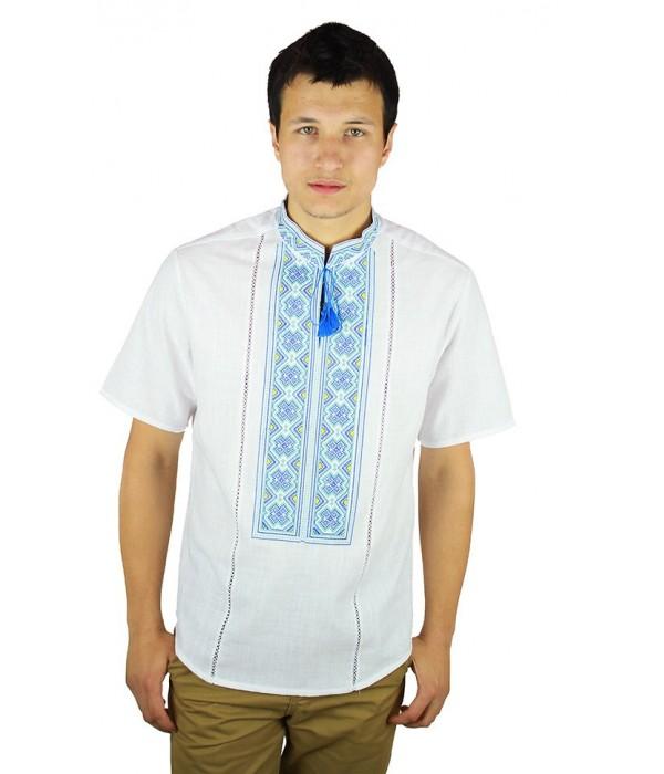 Рубашка вышитая мужская М-418-10, Рубашка вышитая мужская М-418-10 купити