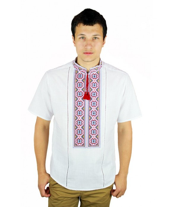 Рубашка вышитая мужская М-418-9, Рубашка вышитая мужская М-418-9 купити