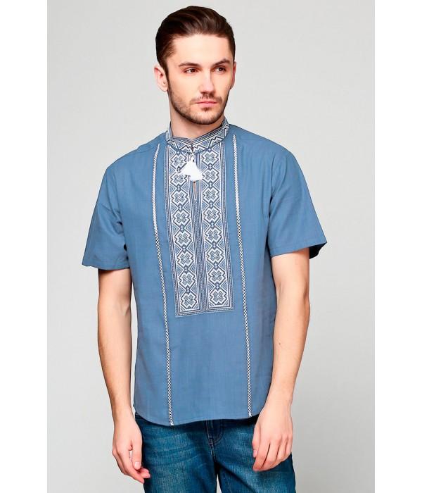Рубашка вышитая мужская М-418-17, Рубашка вышитая мужская М-418-17 купити