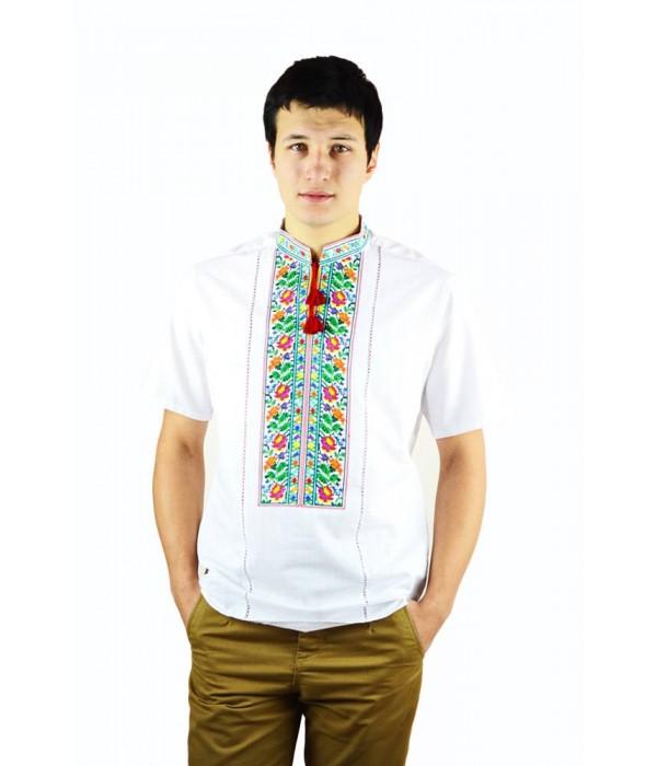 Рубашка вышитая мужская  М-421-2, Рубашка вышитая мужская  М-421-2 купити