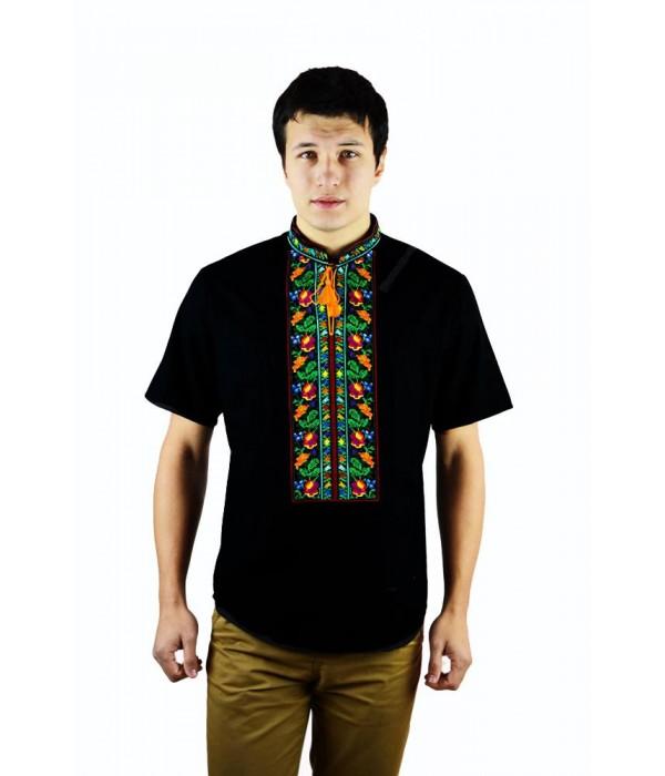 Рубашка вышитая мужская  М-421-3, Рубашка вышитая мужская  М-421-3 купити
