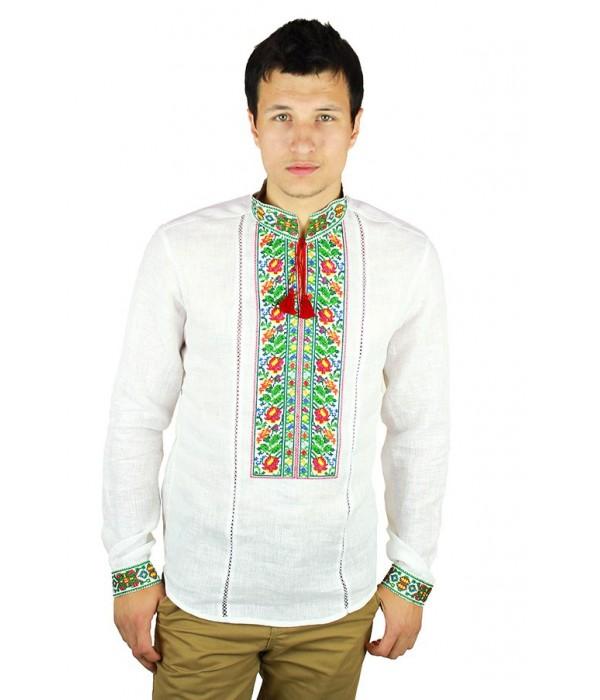 Рубашка вышитая мужская  М-421-1, Рубашка вышитая мужская  М-421-1 купити