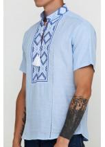 Рубашка вышитая мужская  М-422-10