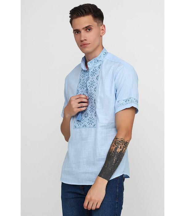 Рубашка «Снежинка»  М-412-23, Рубашка «Снежинка»  М-412-23 купити