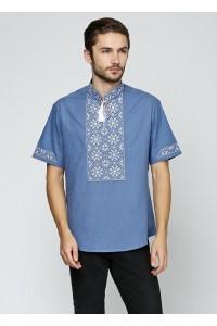 Рубашка «Снежинка»  М-412-15