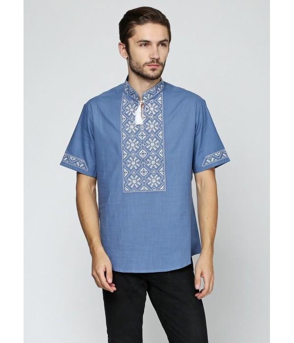 Рубашка «Снежинка»  М-412-15, Рубашка «Снежинка»  М-412-15 купити