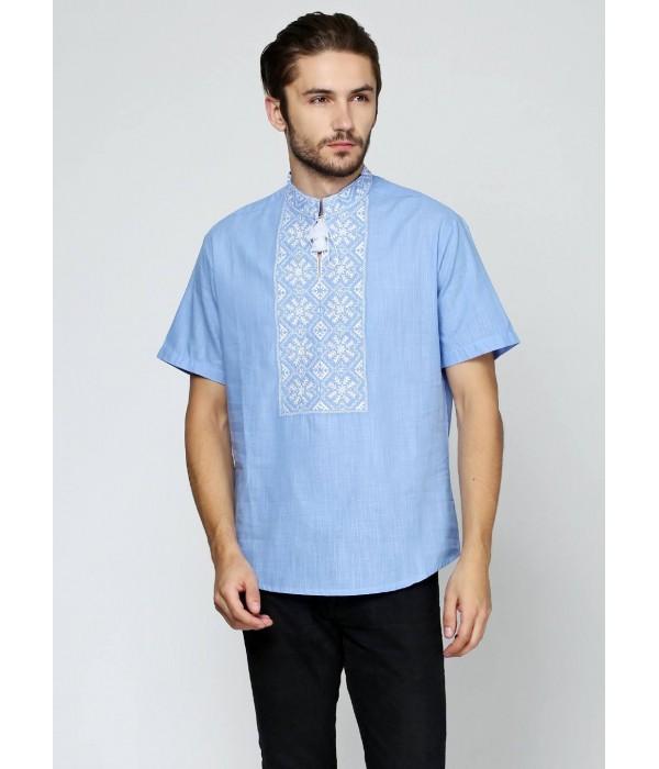 Рубашка «Снежинка»  М-412-17, Рубашка «Снежинка»  М-412-17 купити