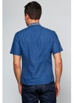 Рубашка вышитая мужская  М-417-10