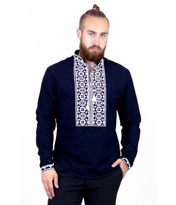 Рубашка вышитая мужская   М-417-14, Рубашка вышитая мужская   М-417-14 купити