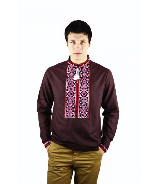 Рубашка вышитая мужская М-417-4, Рубашка вышитая мужская М-417-4 купити