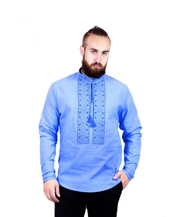 Рубашка вышитая мужская  М-417-9, Рубашка вышитая мужская  М-417-9 купити
