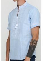 Рубашка вышитая мужская М-418-17
