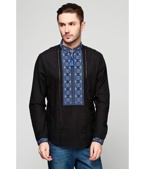 Рубашка вышитая мужская М-418-2, Рубашка вышитая мужская М-418-2 купити