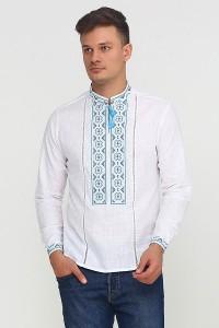 Рубашка вышитая мужская М-418
