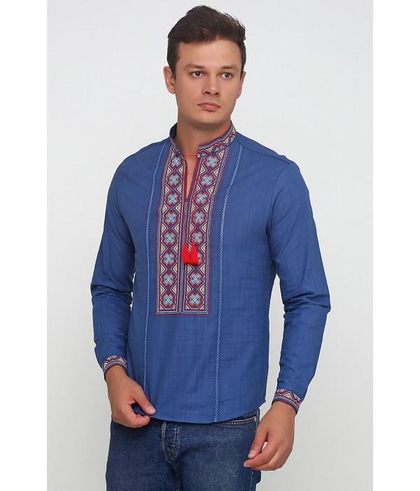 Рубашка вышитая мужская М-418-26, Рубашка вышитая мужская М-418-26 купити