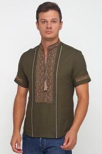 Рубашка вышитая мужская М-418-27