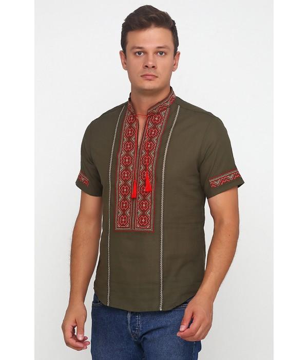Рубашка вышитая мужская М-418-28, Рубашка вышитая мужская М-418-28 купити