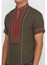 Рубашка вышитая мужская М-418-28