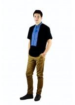 Рубашка вышитая мужская М-418-11