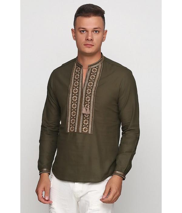 Рубашка вышитая мужская М-419-10, Рубашка вышитая мужская М-419-10 купити
