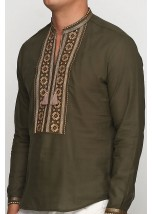 Рубашка вышитая мужская М-419-10