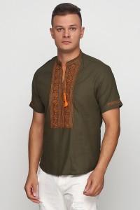 Рубашка вышитая мужская М-419-11