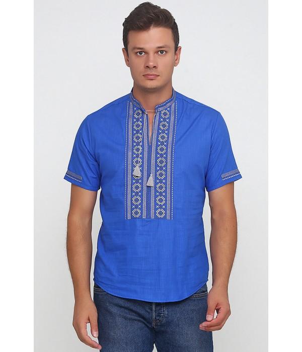 Рубашка вышитая мужская М-419-7, Рубашка вышитая мужская М-419-7 купити
