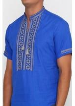 Рубашка вышитая мужская М-419-7
