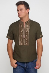 Рубашка вышитая мужская М-419-8