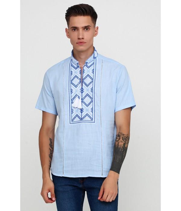 Рубашка вышитая мужская  М-422-10, Рубашка вышитая мужская  М-422-10 купити