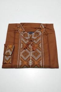 Рубашка вышитая мужская  М-422-12