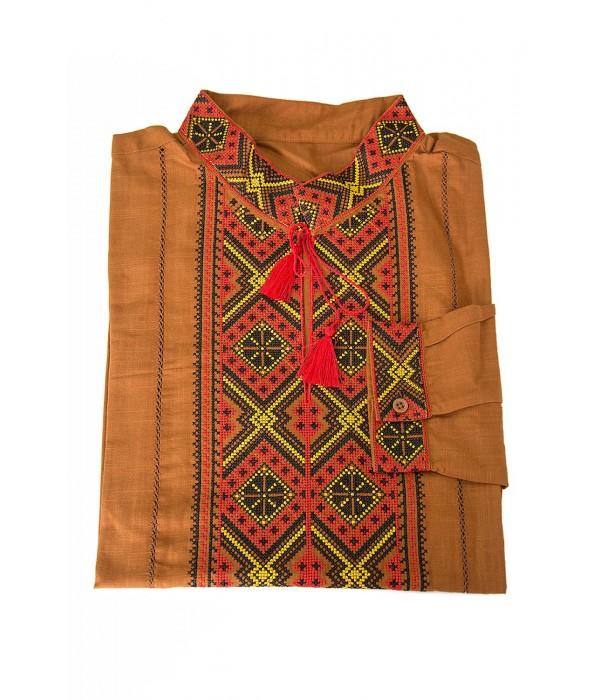 Рубашка вышитая мужская  М-422-15, Рубашка вышитая мужская  М-422-15 купити
