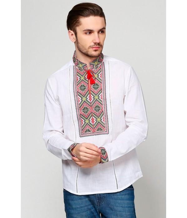 Рубашка вышитая мужская  М-422-3, Рубашка вышитая мужская  М-422-3 купити