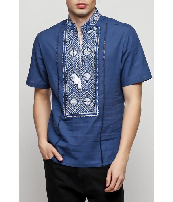 Рубашка вышитая мужская  М-422-6, Рубашка вышитая мужская  М-422-6 купити