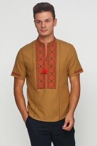 Рубашка вышитая мужская  М-423-11
