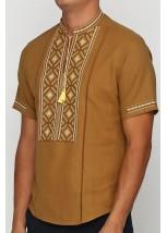 Рубашка вышитая мужская  М-423-12