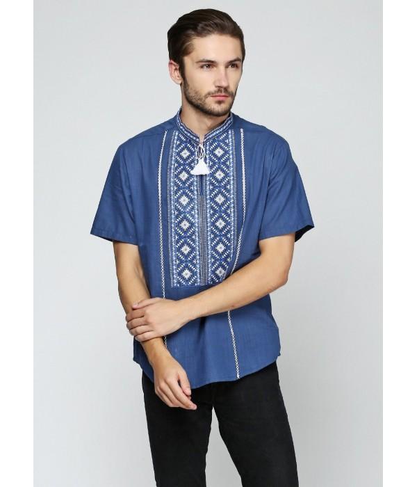 Рубашка вышитая мужская  М-423-8, Рубашка вышитая мужская  М-423-8 купити