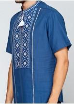 Рубашка вышитая мужская  М-423-8