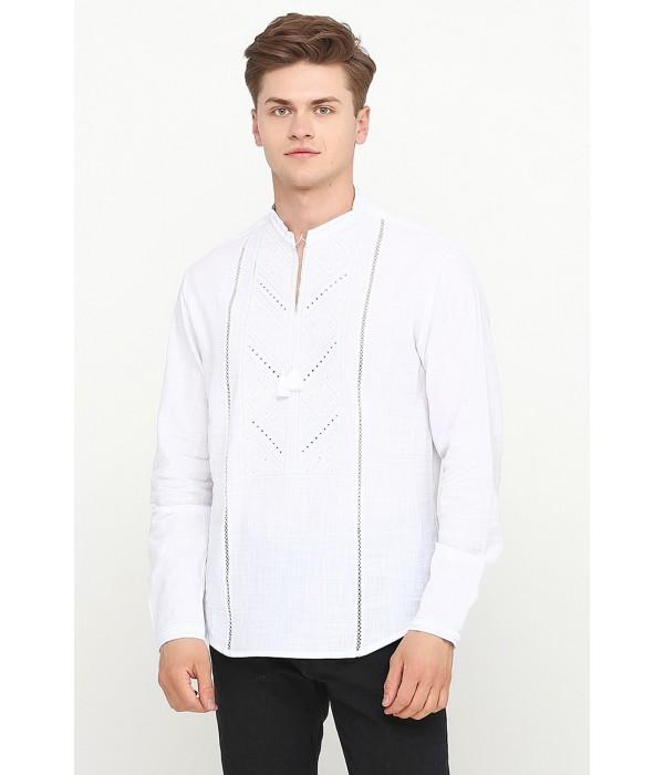 Рубашка вышитая крестиком M-425-1, Рубашка вышитая крестиком M-425-1 купити