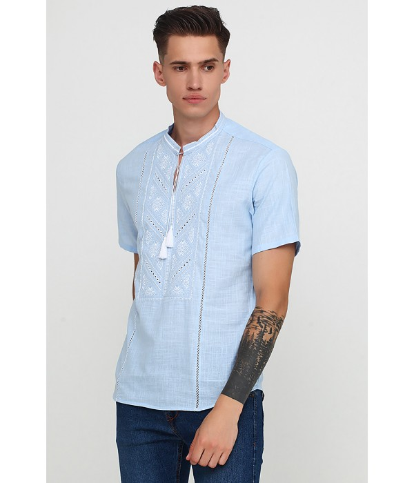 Рубашка вышитая M-425-10, Рубашка вышитая M-425-10 купити