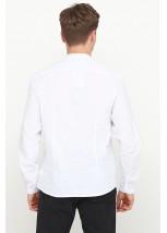 Рубашка вышитая крестиком M-425-1