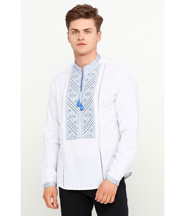Рубашка вышитая крестиком M-425-2, Рубашка вышитая крестиком M-425-2 купити