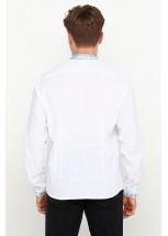Рубашка вышитая крестиком M-425-2