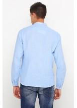 Рубашка вышитая крестиком M-425-7