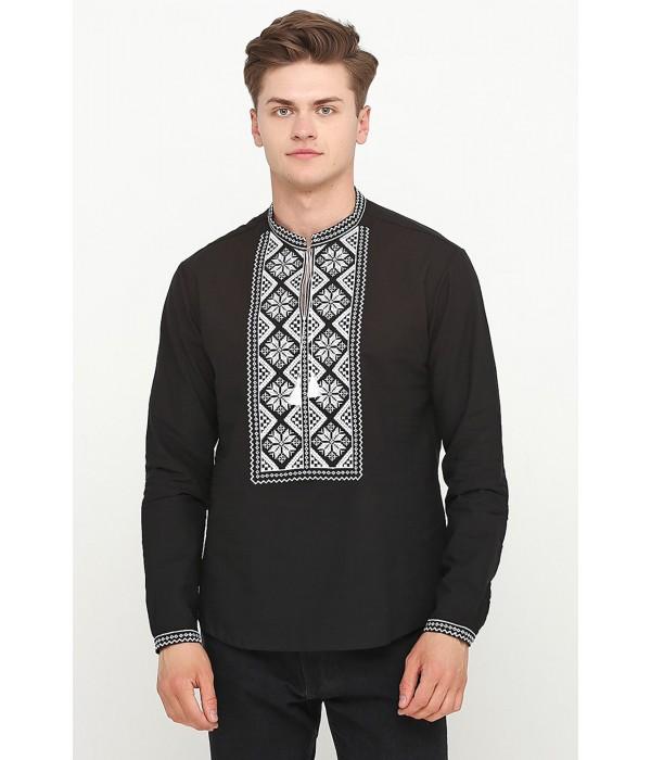 Рубашка вышитая крестиком M-426-3, Рубашка вышитая крестиком M-426-3 купити