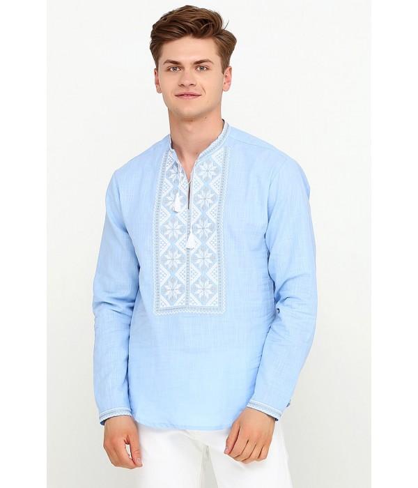 Рубашка вышитая крестиком M-426-4, Рубашка вышитая крестиком M-426-4 купити