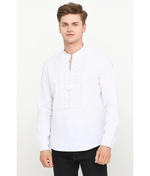 Рубашка вышитая крестиком M-426, Рубашка вышитая крестиком M-426 купити
