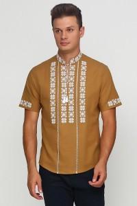 Мужская вышитая рубашка  М-403-39